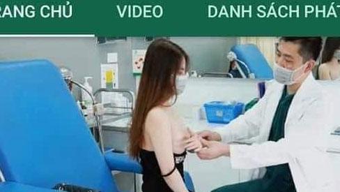 Một bệnh viện thẩm mỹ nổi tiếng ở Hà Nội sử dụng hình ảnh nhạy cảm của khách hàng kèm những ngôn từ tục tĩu như trong phim người lớn để quảng cáo