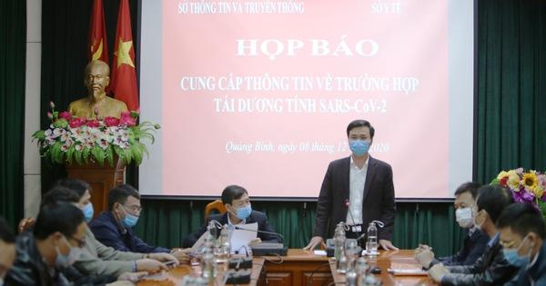 Quảng Bình: Giám sát chặt chẽ BN 1291 tái dương tính SARS-CoV-2