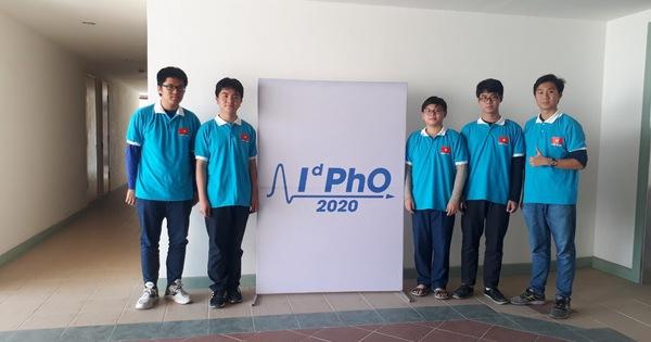 Việt Nam đoạt 5 Huy chương tại kỳ thi Olympic Vật lý quốc tế 2020