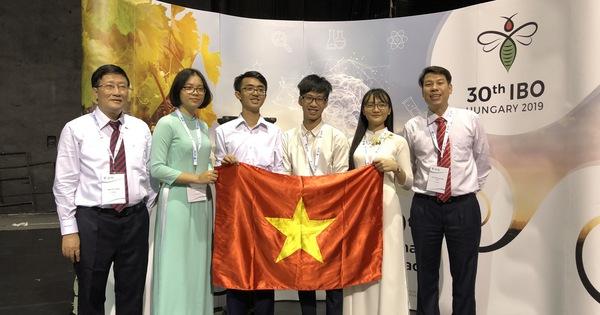 TP.HCM: Học sinh đoạt Huy chương Vàng hoặc giải nhất thi Quốc tế sẽ được thưởng 200 triệu đồng