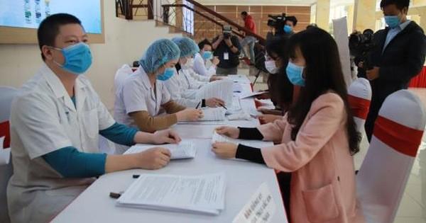 Sáng nay, 3 người đầu tiên sẽ được tiêm thử nghiệm vắc xin COVID-19 của Việt Nam