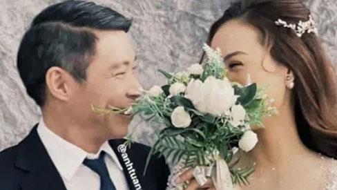 Rò rỉ hậu trường chụp ảnh cưới của NSND Công Lý và bạn gái kém 15 tuổi