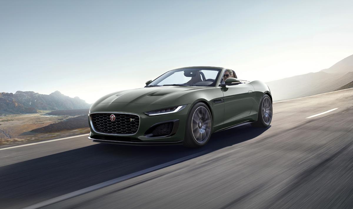 Phiên bản xe Jaguar đặc biệt kỷ niệm mốc kim cương của dòng E-TYPE huyền thoại