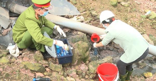 Huế: Phát hiện doanh nghiệp có dấu hiệu xả nước thải trực tiếp ra môi trường
