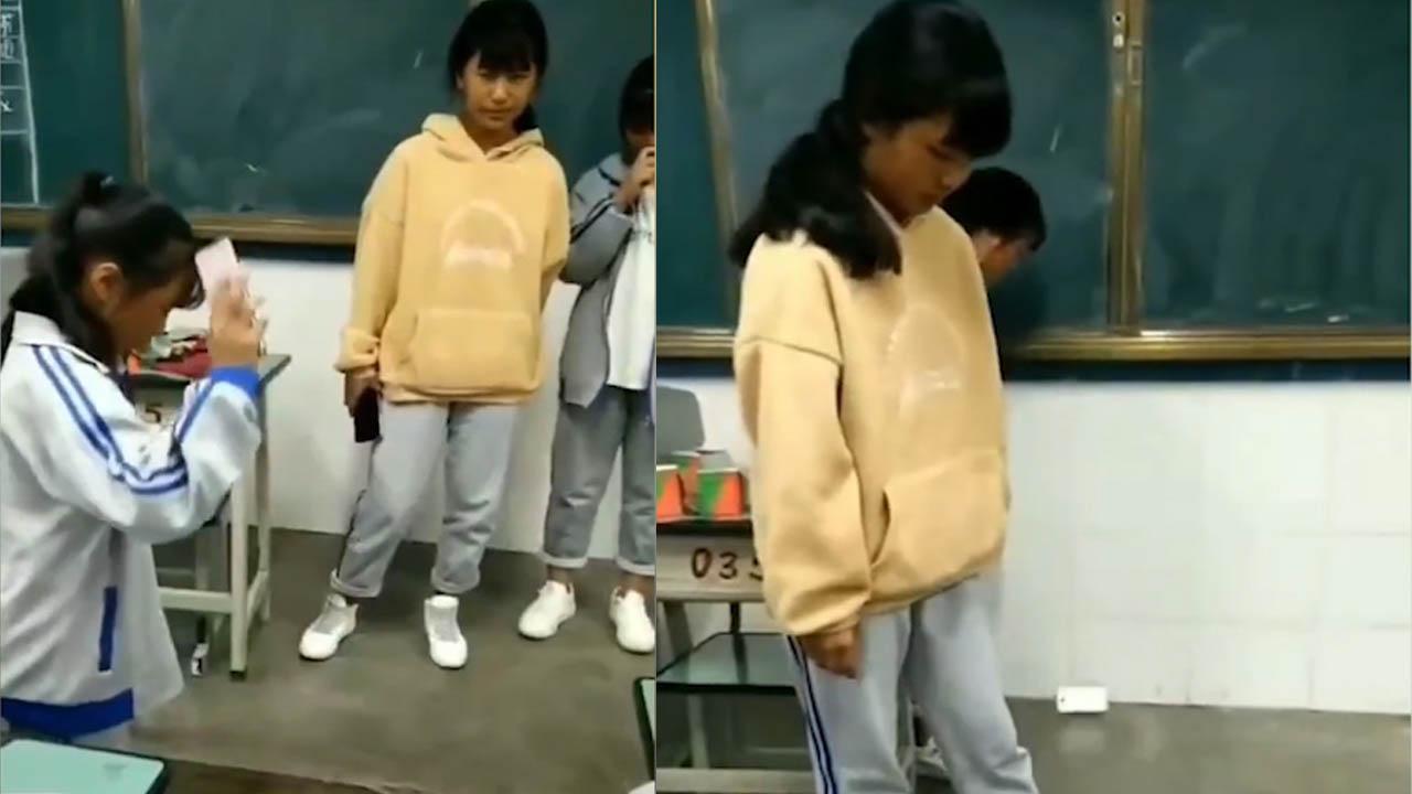 Cô giáo bị đình chỉ vì bắt học sinh đập vỡ điện thoại trong lớp học
