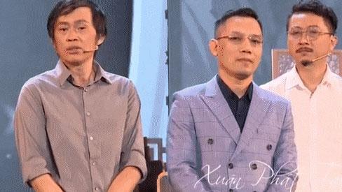 Nghệ sĩ Hoài Linh nghẹn ngào gửi lời cảm ơn nghệ sĩ Hoàng Sơn và khán giả về sự thiếu vắng của cố nghệ sĩ Chí Tài