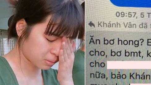 """Khánh Vân bị tố thả thính trai đã có bồ, lộ cả đoạn chat """"nhõng nhẽo"""" trong group antifan"""