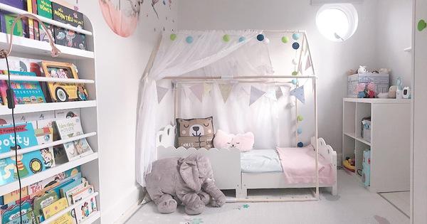Bầu 1 tháng dâu Việt vẫn tự tay thiết kế, decor phòng ngủ cho con vừa ấm cúng mà cực sang, đội ngũ chuyên nghiệp đến cũng phải
