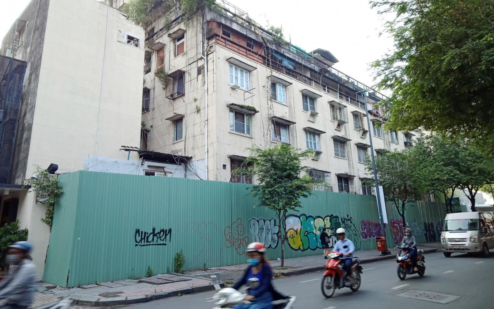 Tp.HCM đã di dời loạt chung cư cũ trong năm 2020