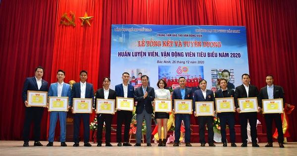 Trường Đại học TDTT Bắc Ninh Tổng kết và Tuyên dương HLV, VĐV tiêu biểu năm 2020
