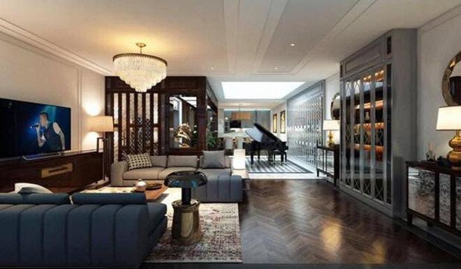 Biệt thự triệu đô của Tuấn Hưng: Thiết kế đậm chất châu Âu, sang chảnh từ phòng khách tới tận ban công-1
