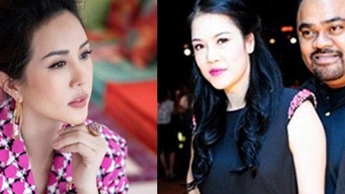 Hoa hậu Thu Hoài đăng status nói rõ thái độ hậu bị công kích, chồng Thu Phương 1 đáp 1 ngay và luôn