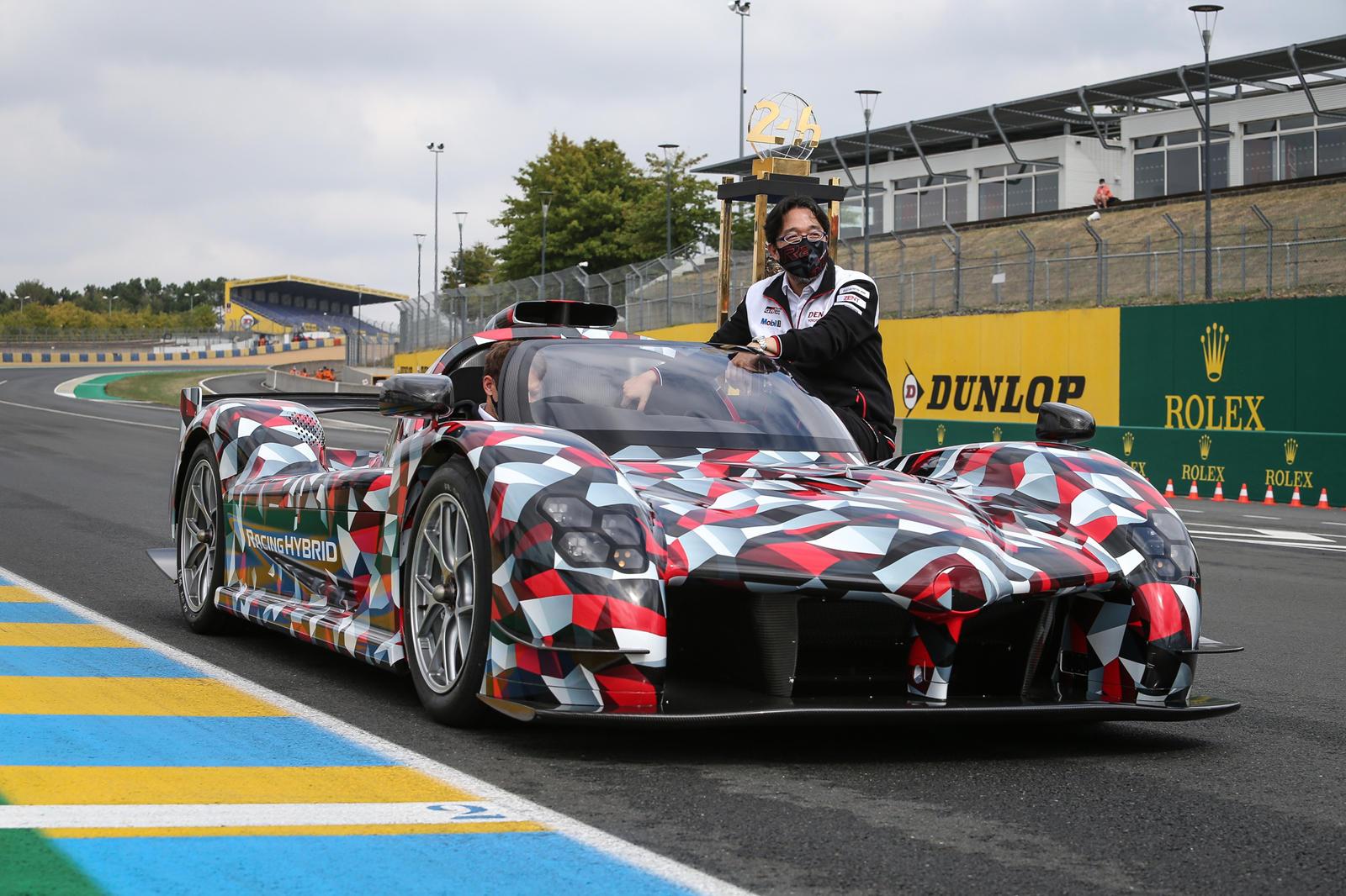 Toyota sắp trình làng siêu xe, sẽ tham gia giải đua Le Mans Hypercar