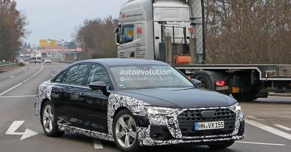 Audi A8 2022 lần đầu lộ diện, nhiều khả năng có phiên bản riêng đấu Mercedes-Maybach