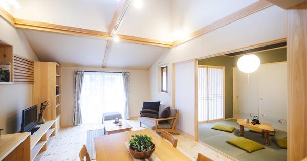 Căn nhà gỗ xây dựng theo lối kiến trúc Nhật Bản với 1 trệt 1 lửng bình yên cho gia đình trẻ
