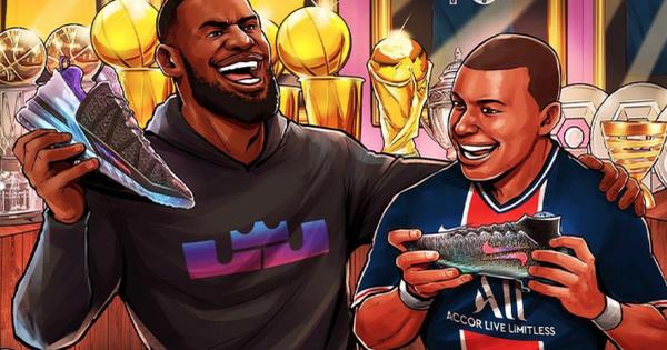 LeBron James kết hợp cùng Kylian Mbappé trong siêu phẩm Nike