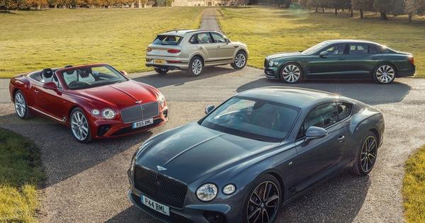 Bentley vẫn tăng trưởng bất chấp COVID-19, chốt 9 xe mới ra mắt trong 2021