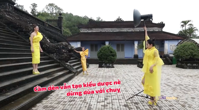 """Nam Em hài hước dạy Hoa hậu Khánh Vân tạo dáng: Đung đưa xíu cho nó mê muội!""""-4"""