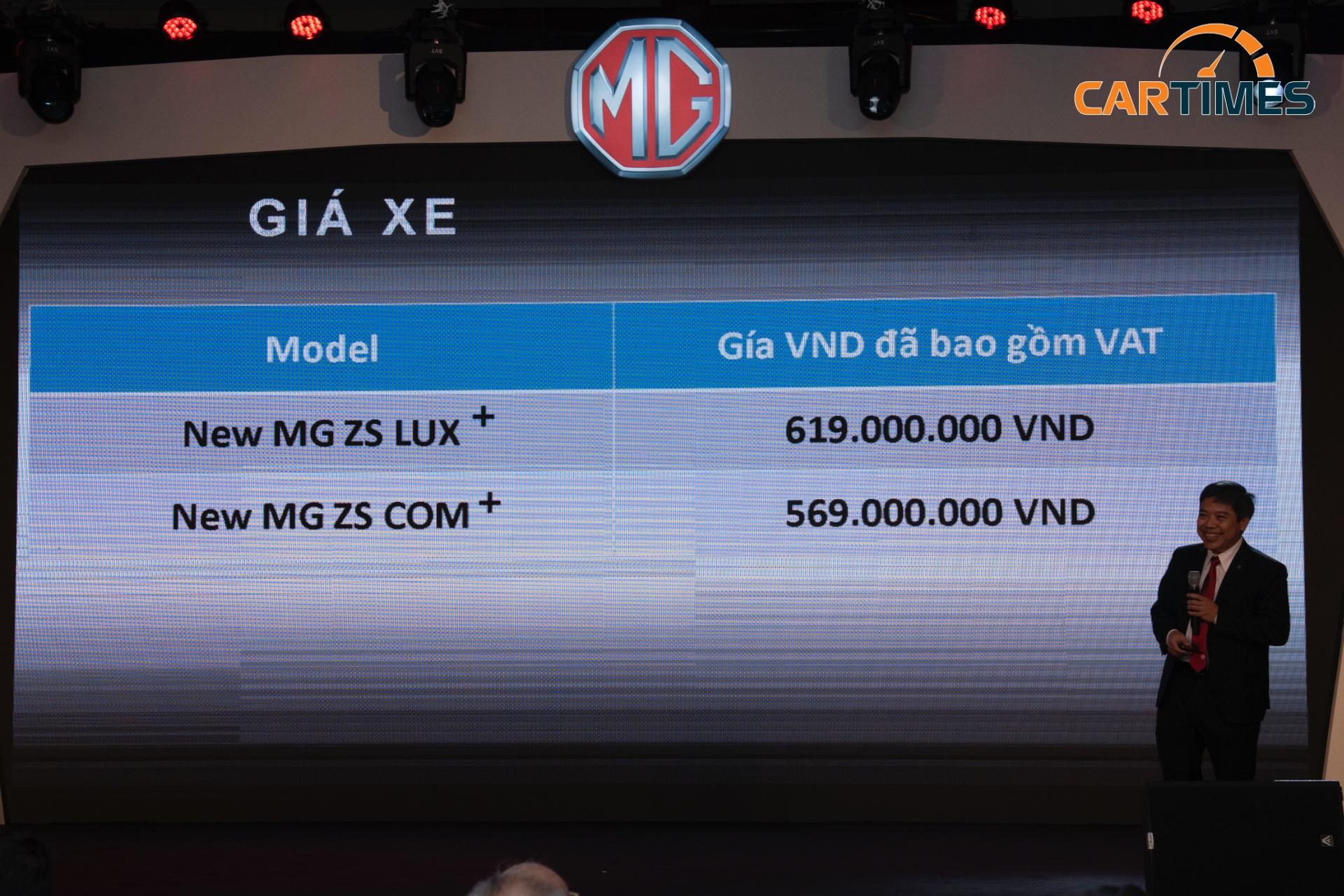 MG ZS phiên bản nâng cấp ra mắt thị trường Việt Nam giá từ 569 triệu đồng -3