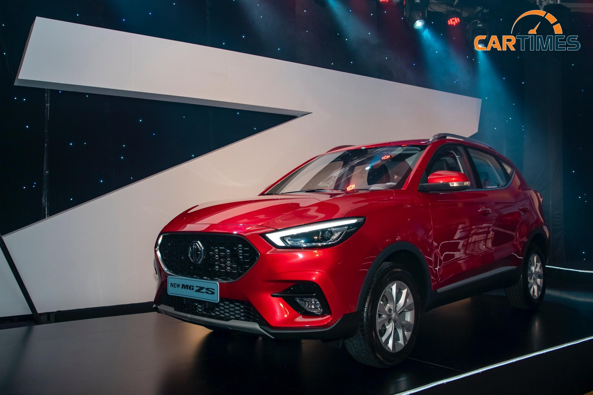 MG ZS phiên bản nâng cấp ra mắt thị trường Việt Nam giá từ 569 triệu đồng