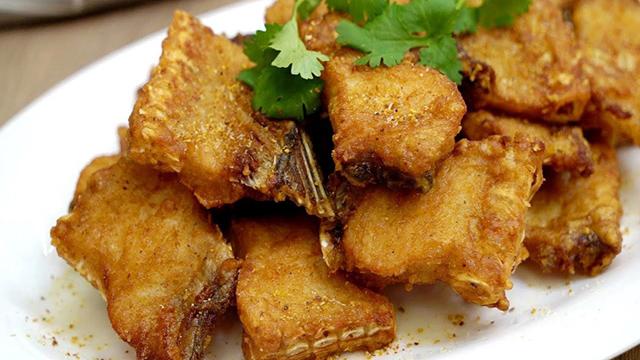 Công thức ướp và rán cá vàng giòn