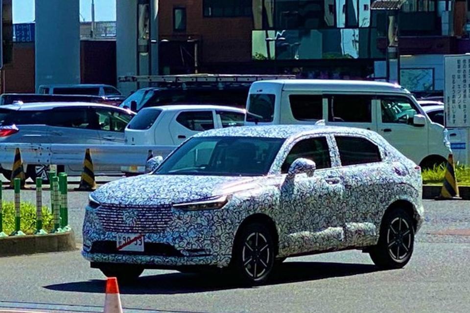 Honda HR-V 2021 thế hệ mới sắp chính thức ra mắt
