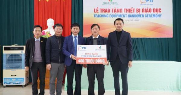 PTI trao tặng 2 phòng học đa năng tại Quảng Trị