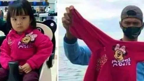 Vụ máy bay rơi ở Indonesia: Xúc động chiếc áo hồng của hành khách nhí được tìm thấy và câu chuyện con trai nhỏ ngăn bố lên chuyến bay tử thần được tiết lộ