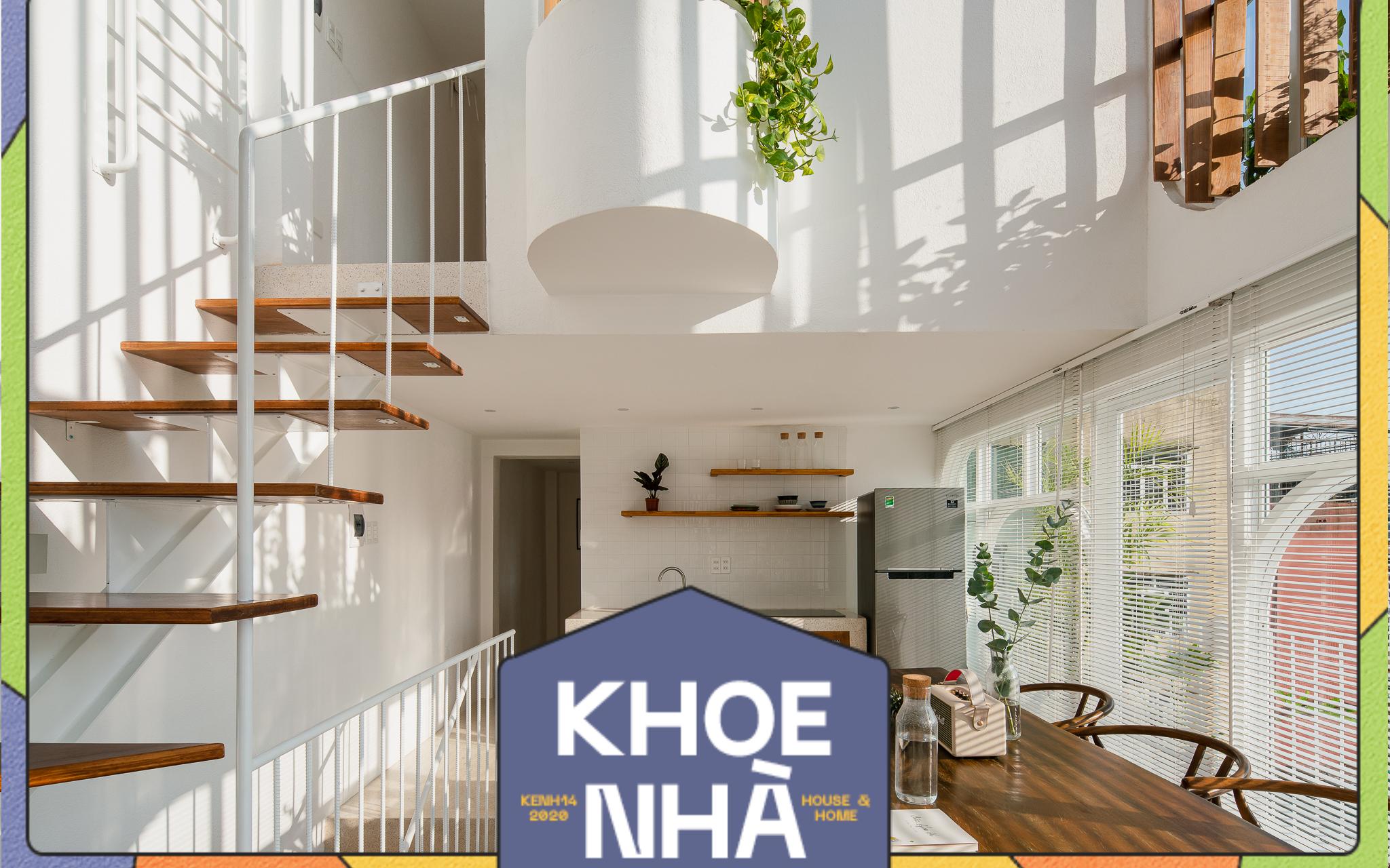 Lên Đà Lạt, cặp vợ chồng Sài Gòn xây ngôi nhà trắng tinh khôi theo phong cách
