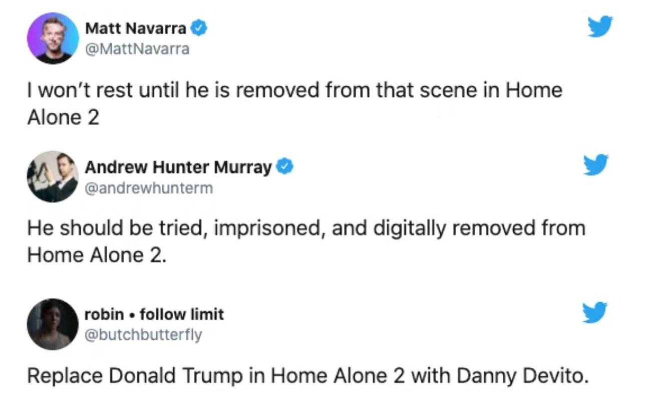 Cư dân mạng đòi xóa hình ảnh Tổng thống Trump khỏi nhiều cảnh phim nổi tiếng-1