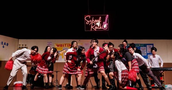 """Nhạc kịch """"Rock học đường"""" tại BVIS - không đơn thuần là một vở diễn!"""