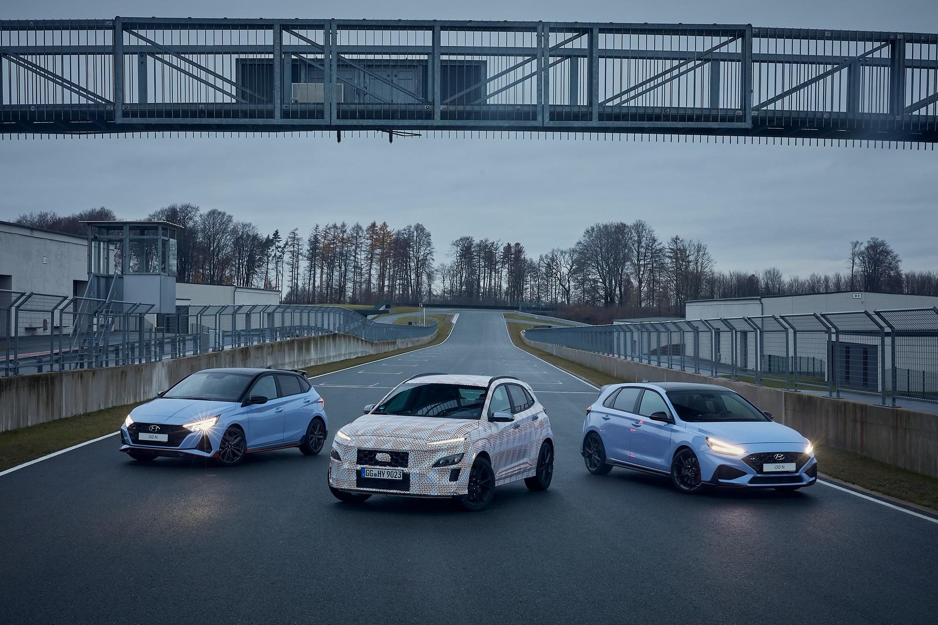 Hyundai lại nhá hàng Kona N, xác nhận động cơ và hộp số sử dụng-2