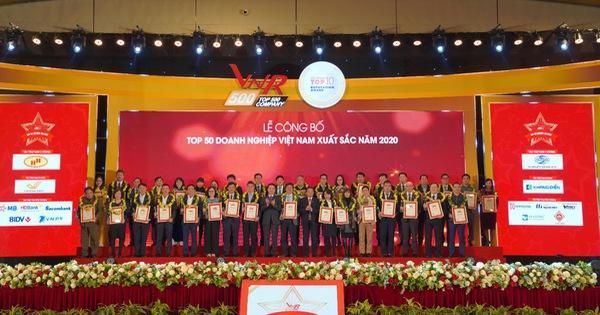 SCB được Vietnam Report bình chọn vào top 50 doanh nghiệp xuất sắc nhất Việt Nam năm 2020