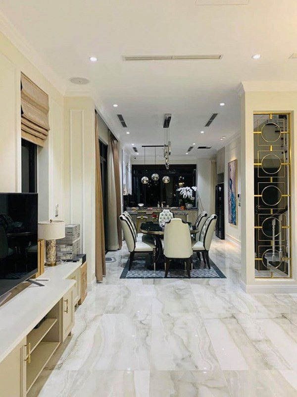 Cơ ngơi của MC Vân Hugo: 1 căn hộ cao cấp ở Hà Nội, 1 biệt thự trắng ở Sài Gòn, nhìn đâu cũng mê-8