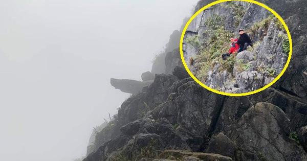 """Nam du khách trượt chân rơi xuống khe đá khi chụp ảnh tại """"mỏm đá tử thần"""" kể lại giây phút thoát chết thần kỳ"""