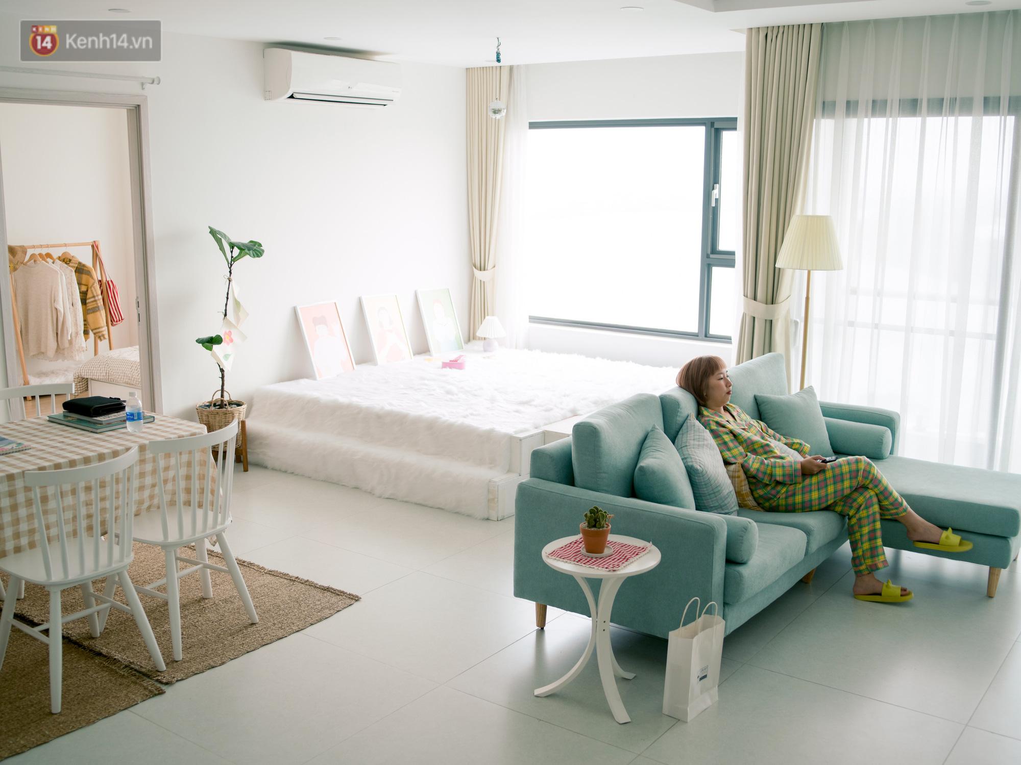 Trang Hý chơi sang ở một mình một nhà rộng 120m với 3 phòng ngủ, nội thất rẻ đến bất ngờ-1