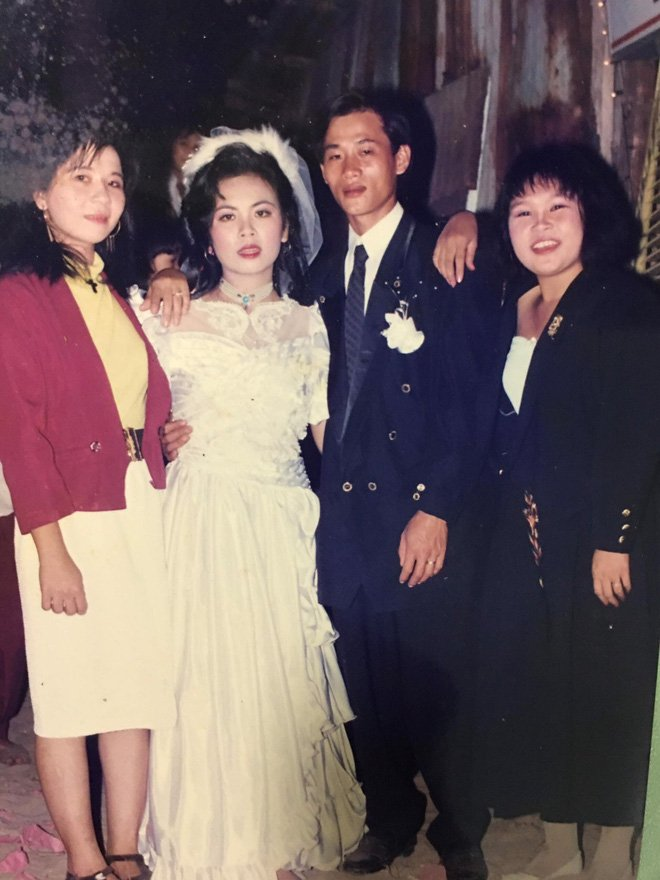 Khoe ảnh cưới khi mẹ vừa tròn 18 tuổi, cô gái bị ghen nhẹ vì được hưởng trọn nhan sắc cực phẩm-3