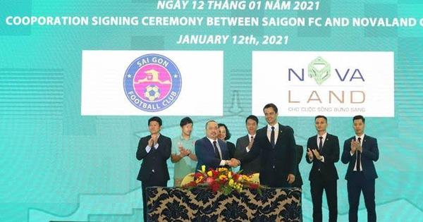 Novaland hỗ trợ Sài Gòn FC phát triển bền vững và vươn tầm quốc tế