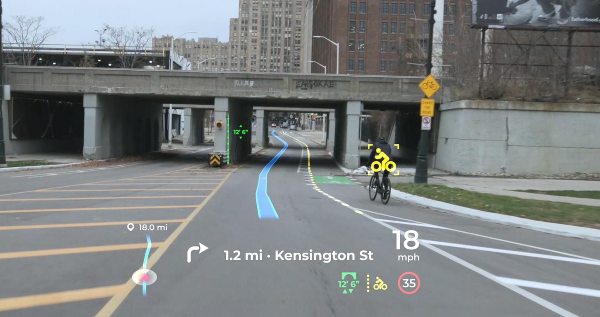 Công nghệ hiển thị trên kính lái mới ra mắt tại CES, hãng phát triển gây bất ngờ