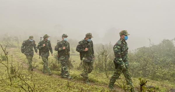 Biên phòng Quảng Trị vượt giá rét thực hiện nhiệm vụ chống dịch Covid-19
