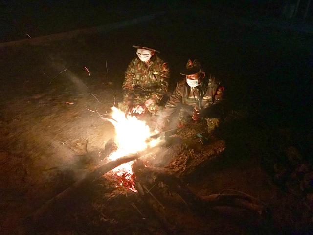 Biên phòng Quảng Trị vượt giá rét thực hiện nhiệm vụ chống dịch Covid-19-7