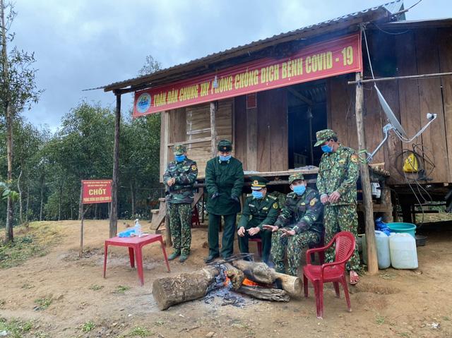 Biên phòng Quảng Trị vượt giá rét thực hiện nhiệm vụ chống dịch Covid-19-5
