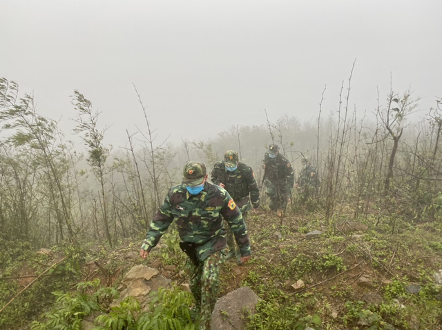 Biên phòng Quảng Trị vượt giá rét thực hiện nhiệm vụ chống dịch Covid-19-4