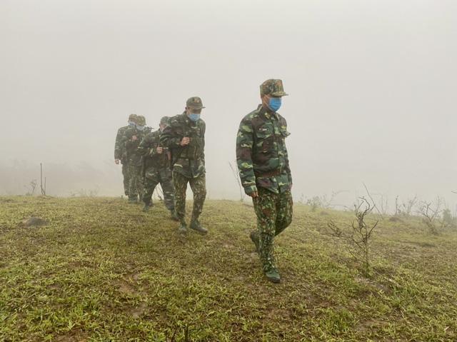 Biên phòng Quảng Trị vượt giá rét thực hiện nhiệm vụ chống dịch Covid-19-1