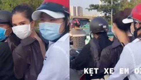 Ngọc Trinh đăng clip phải chạy xe máy để kịp đi làm, nhưng lại bị netizen soi mắc lỗi giao thông cơ bản