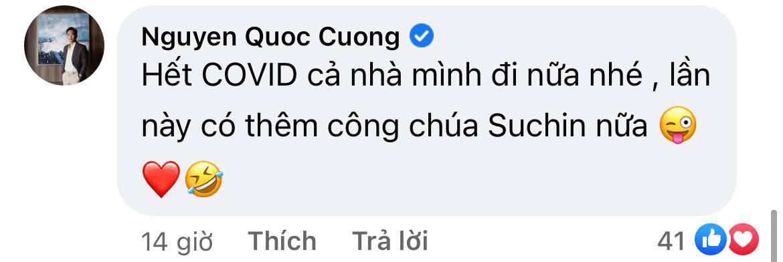 """Đàm Thu Trang đào"""" lại loạt ảnh du lịch với Subeo, Cường Đô La bình luận 1 câu là biết cưng ái nữ mới sinh thế nào-4"""