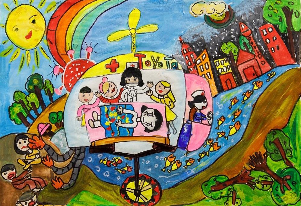 """Công bố kết quả Cuộc thi vẽ tranh quốc tế """"Chiếc ô tô mơ ước"""" lần thứ 10"""