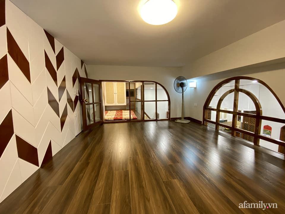 Căn hộ 85m² màu gỗ ấm cúng kết hợp khéo léo phong cách hiện đại và hoài cổ của con trai mua cho bố mẹ ở Hà Nội-20