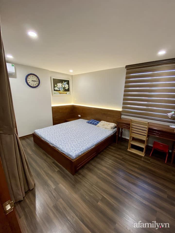 Căn hộ 85m² màu gỗ ấm cúng kết hợp khéo léo phong cách hiện đại và hoài cổ của con trai mua cho bố mẹ ở Hà Nội-17