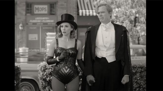 WandaVision: Chị đại phù thủy Marvel chơi đùa thả ga với chồng quá cố vừa hài hước vừa rợn cả gáy!-2